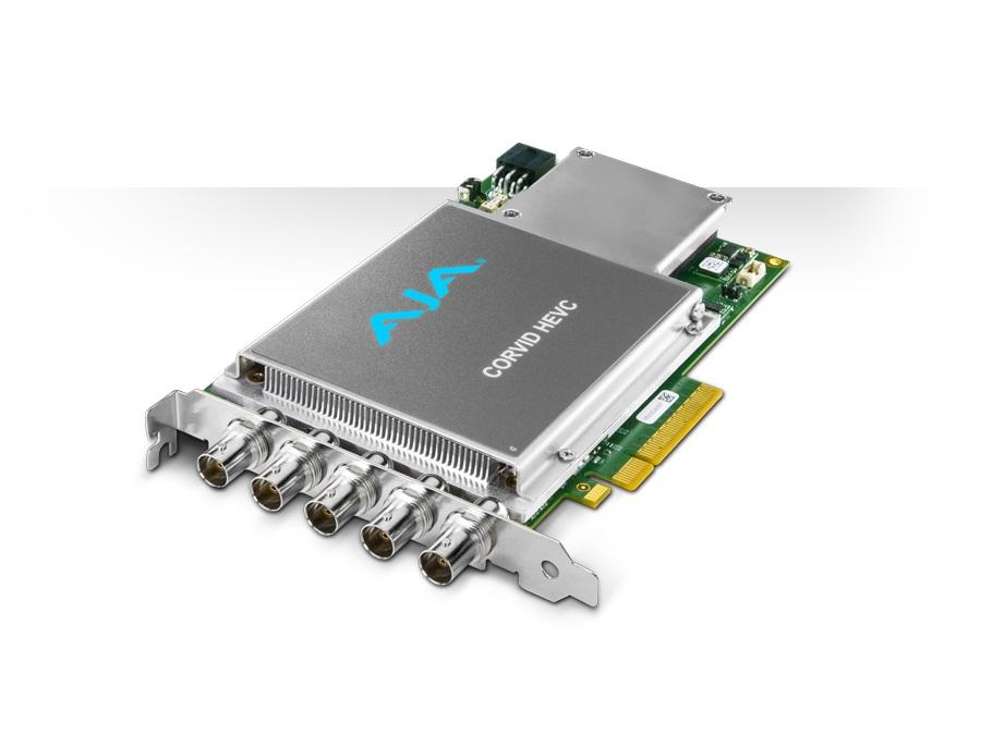 Details about AJA Corvid HEVC-SLOT 4K and Multi-Channel HEVC Encoder  Card/Slot powered