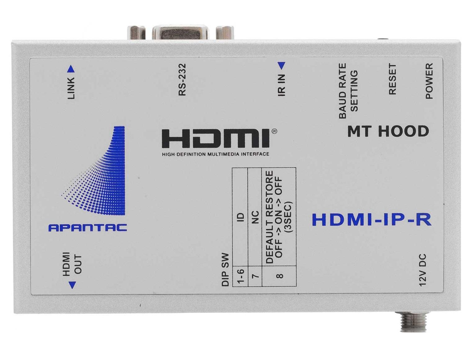 Details about Apantac HDMI-IP-R HDMI Extender (Receiver) RS232/IR/Gigabit  Ethernet Network