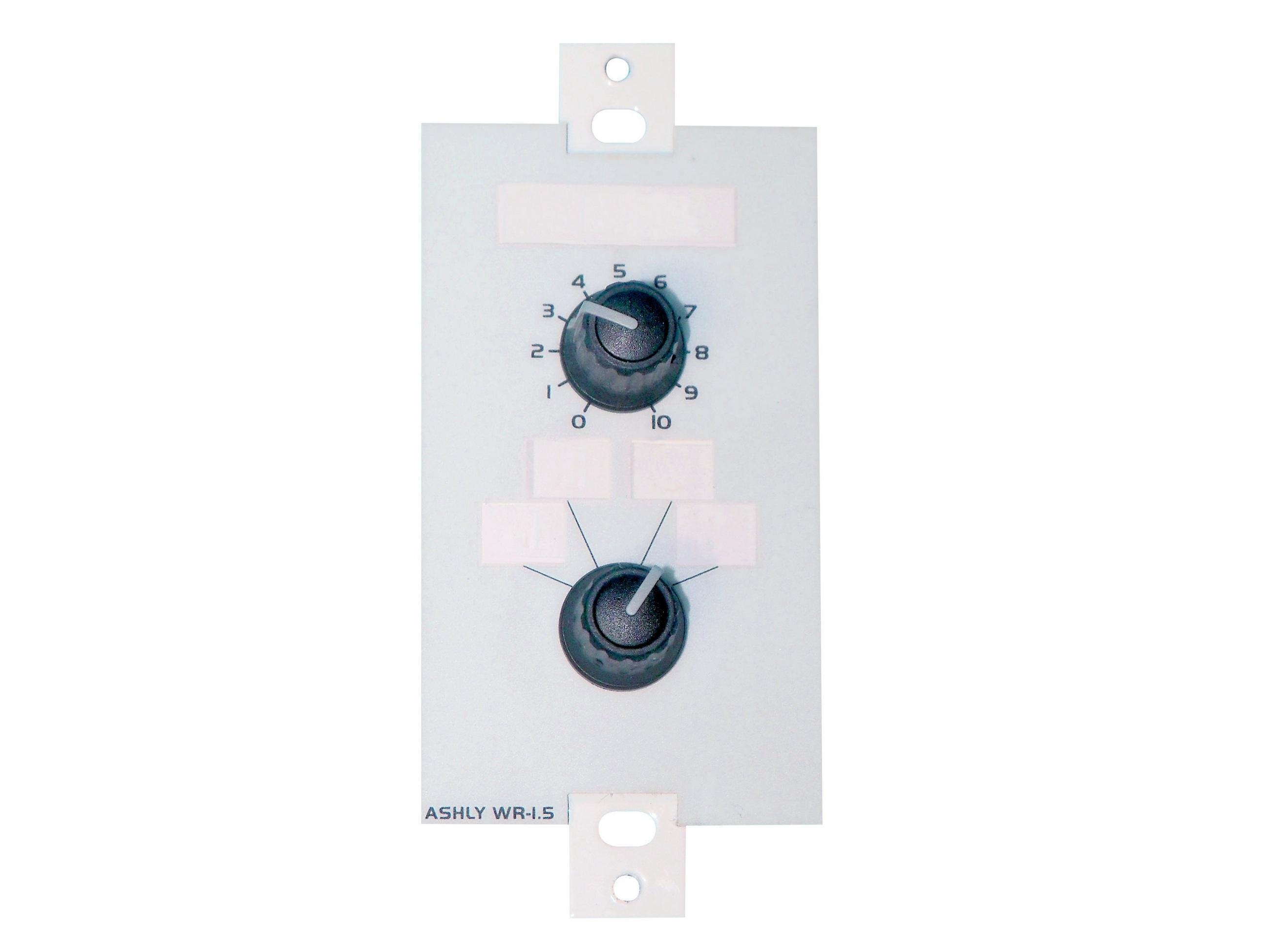 Ashly WR-1 Wall Remote//dual rotary potentiometer