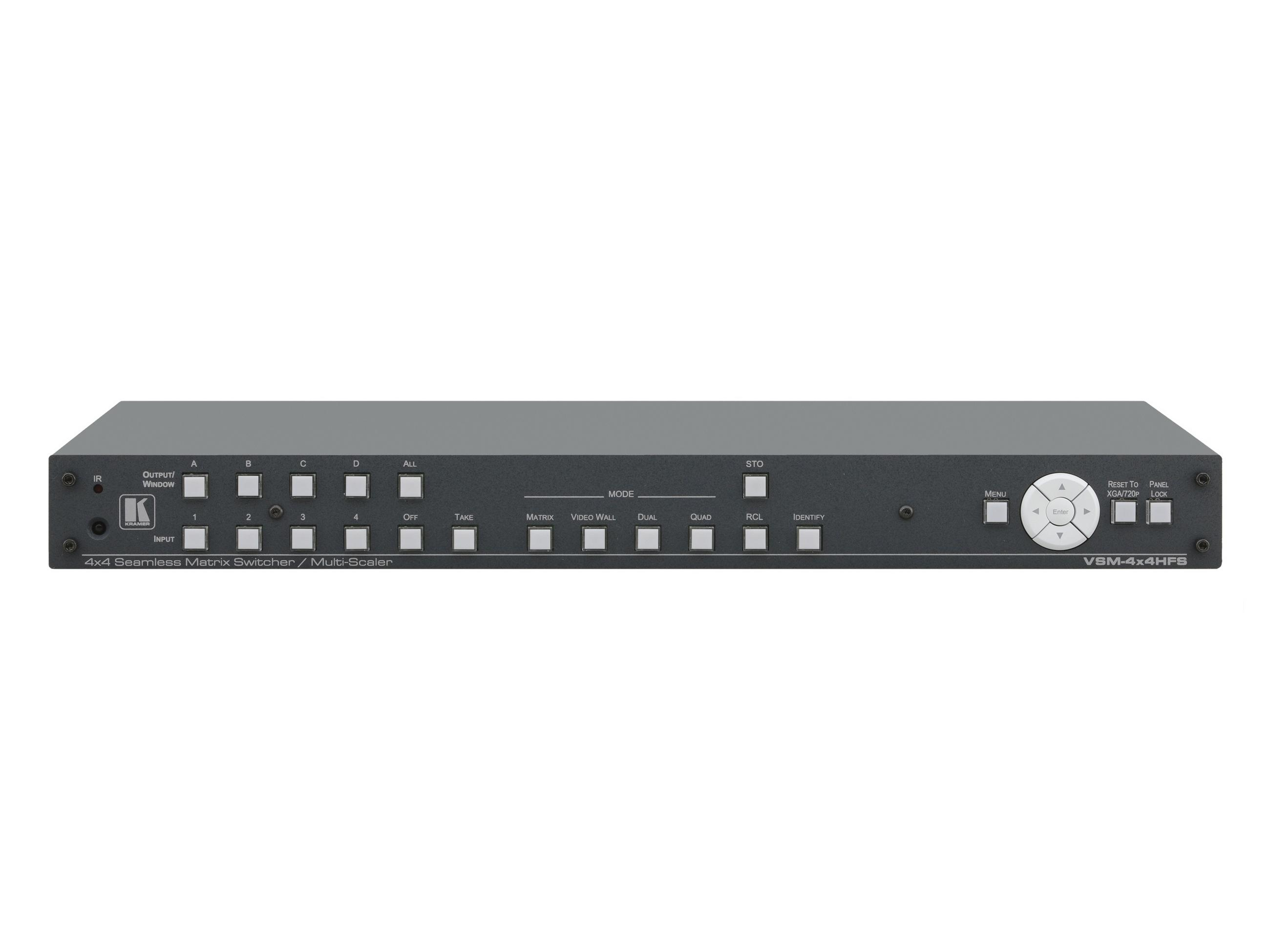 Details about Kramer VSM-4x4HFS 4x4 Seamless Matrix  Switcher/Multi-Scaler/2x2 Video Wall