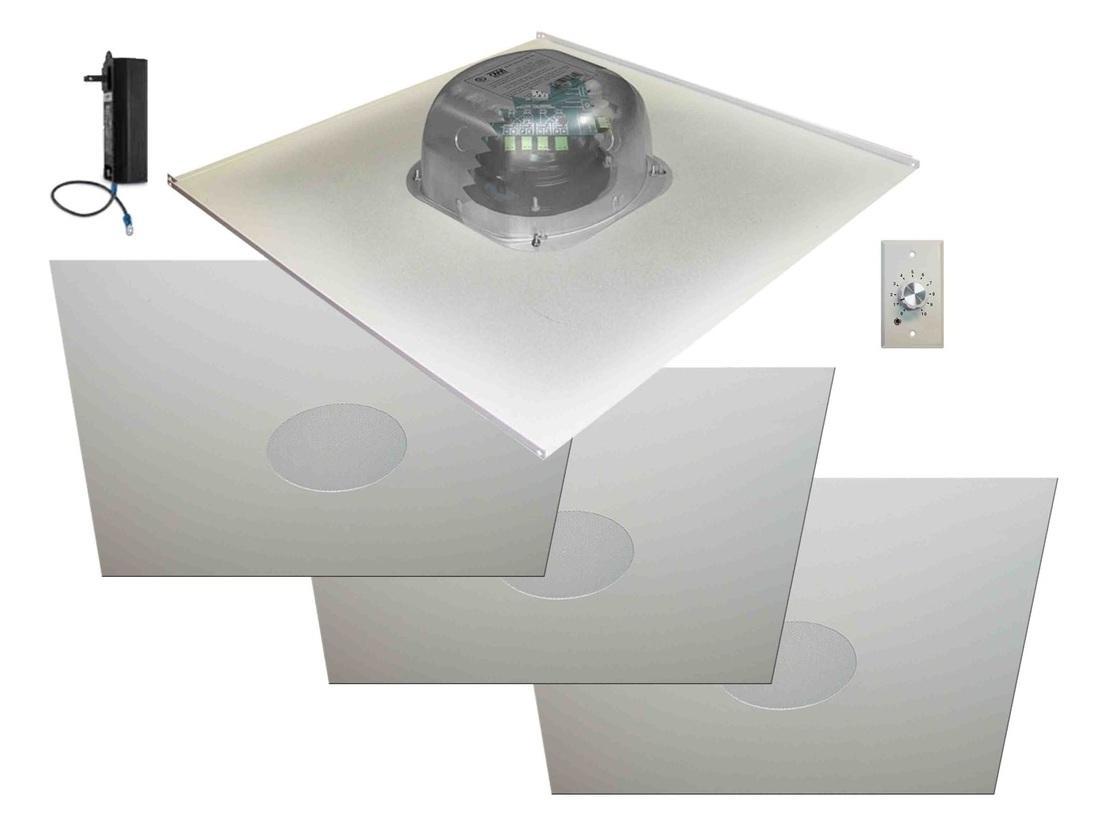 Owi 2x2amp Hd2s64svc 6 Inch In Ceiling Speaker W 3x