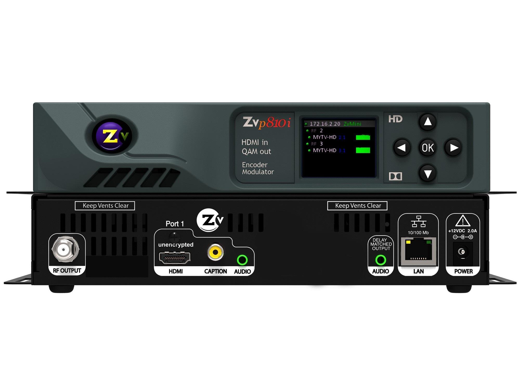 ZeeVee ZvPro810i NA 1 Ch HD Video QAM Modulator
